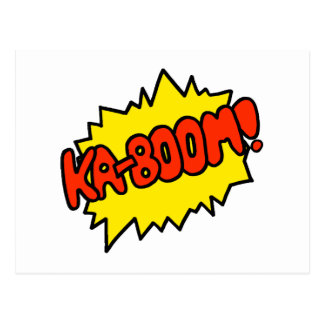 ¡'Ka-Auge cómico! ' Tarjetas Postales