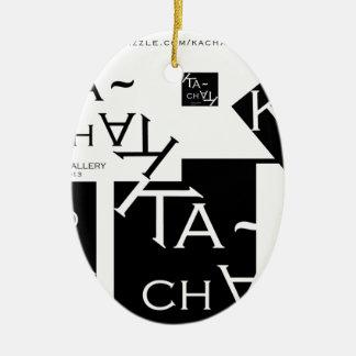 Ka-Chak Gallery LOGO Ceramic Ornament