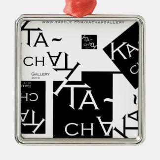 Ka-Chak Gallery LOGO Metal Ornament
