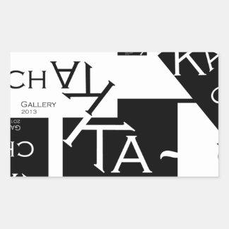 Ka-Chak Gallery LOGO Rectangular Sticker