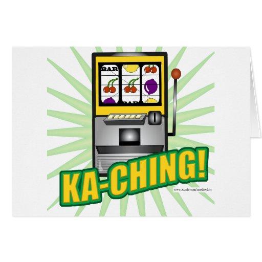 Ka-Ching Big Money! Card