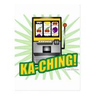 Ka-Ching Big Money! Post Cards