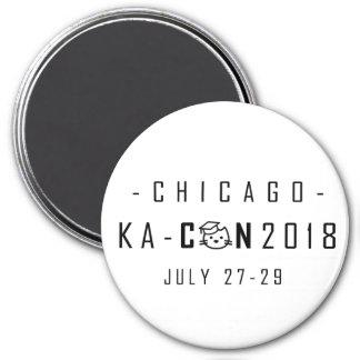 KA-Con Magnet - Black Text