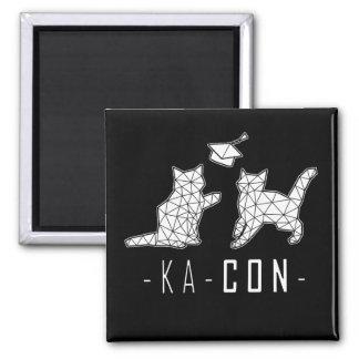 KA-Con Magnet - White Cats