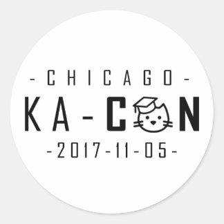 KA-Con Stickers! Classic Round Sticker