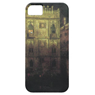 Ka d'Ordo Palace in Venice by moonlight iPhone SE/5/5s Case