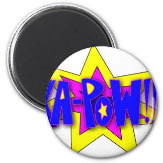 KA-PoW 2 Inch Round Magnet