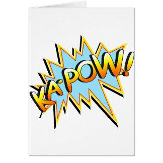 Ka-Pow Stationery Note Card