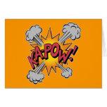 Ka Pow! Cartoon Card