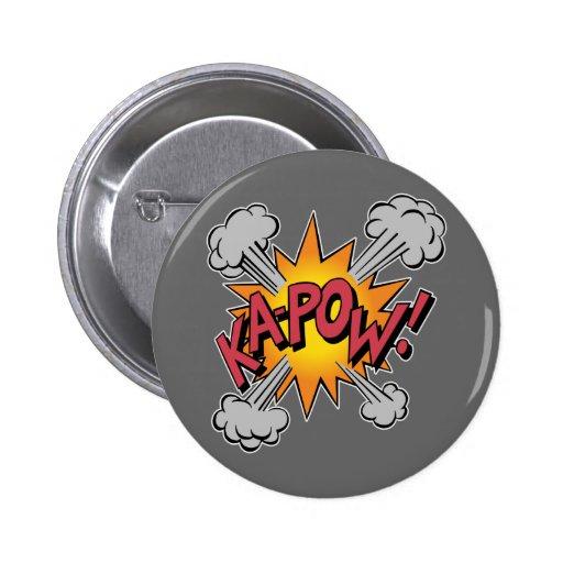 Ka Pow! Cartoon Pin