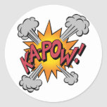 Ka Pow! Cartoon stickers