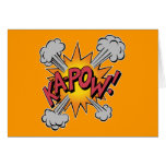 KA-POW! Comic Book Graphic Card