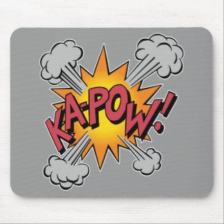 KA-POW! Comic Book Graphic Mouse Pad