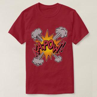 KA-POW! Comic Book Graphic T-Shirt