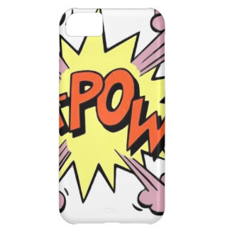 """Ka-Pow"" Cover For iPhone 5C"