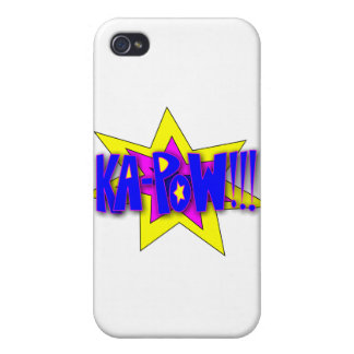Ka-Pow!!! Covers For iPhone 4