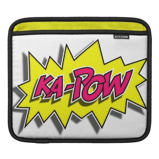 KA-POW iPad Sleeve