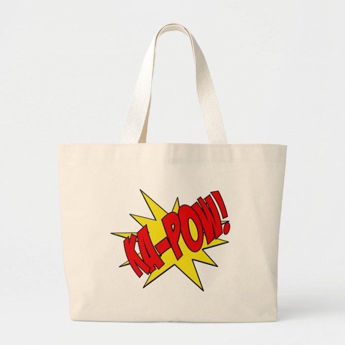 ka-pow large tote bag