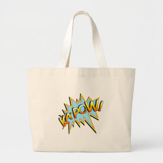 Ka-Pow Large Tote Bag