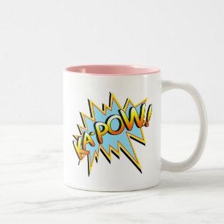 Ka-Pow Two-Tone Coffee Mug