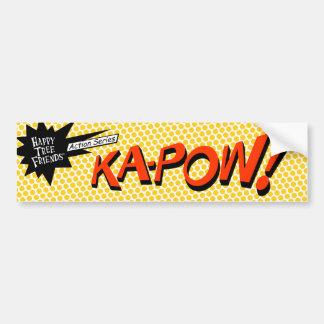 ¡KA-POW! pegatina Pegatina Para Auto