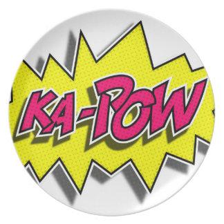 KA-POW Plate