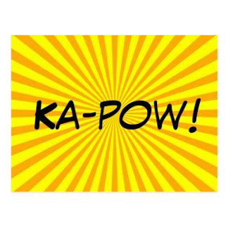 Ka-pow! Postcard