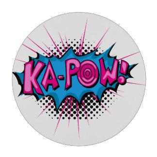 ¡Ka-Prisionero de guerra cómico del arte pop! Fichas De Póquer