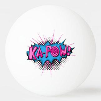 ¡Ka-Prisionero de guerra cómico del arte pop! Pelota De Tenis De Mesa