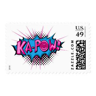 ¡Ka-Prisionero de guerra cómico del arte pop! Timbres Postales