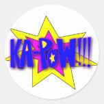 ¡Ka-Prisionero de guerra!!! Etiqueta Redonda