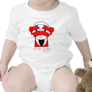 KA Samurai Baby Bodysuits