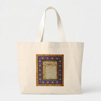 Kıta by Sheikh Hamdullah Jumbo Tote Bag