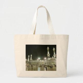 Kaaba Kaba Mecca Mecca Islam Allah Muslim Muslim Large Tote Bag