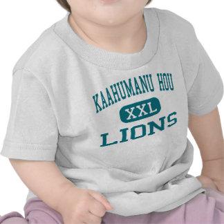 Kaahumanu Hou - Lions - High - Kahului Hawaii T-shirts