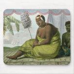 Ka'ahumanu, reina de las islas de bocadillo tapetes de ratones