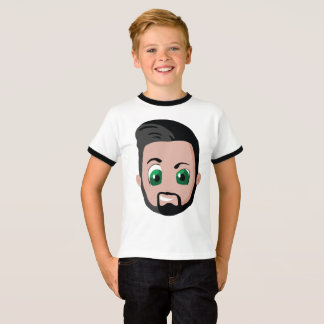 Kaan of children T-shirt boy with edge