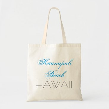 Kaanapali Beach HAWAII funny customizable Tote Bag