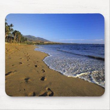 Hawaiian Themed Kaanapali beach, Maui, Hawaii, USA Mouse Pad