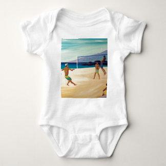 Kaanapali Beach Volleyball Baby Bodysuit