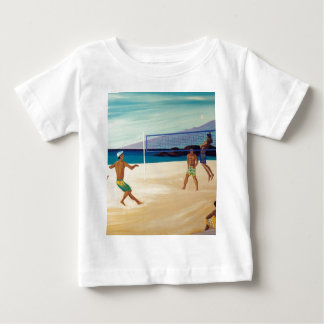 Kaanapali Beach Volleyball Baby T-Shirt