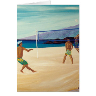 Kaanapali Beach Volleyball Cards