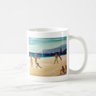 Kaanapali Beach Volleyball Coffee Mug