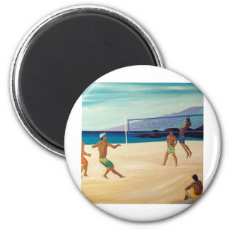 Kaanapali Beach Volleyball Magnet