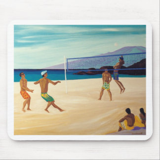 Kaanapali Beach Volleyball Mouse Pad