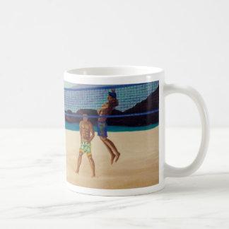 Kaanapali Beach Volleyball Mugs