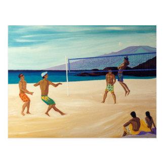 Kaanapali Beach Volleyball Postcard