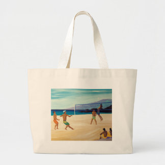 Kaanapali Beach Volleyball Tote Bags
