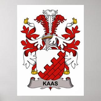 Kaas Family Crest Print