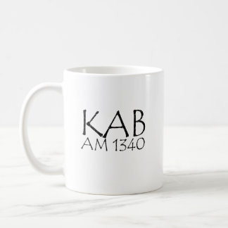 KAB AM 1340 Antonio Bay Radio Coffee Mug